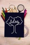 Composite image of idea tree Royalty Free Stock Photos