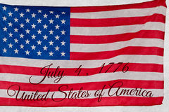 Composite image of independence day Stock Images