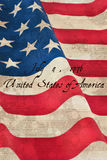 Composite image of independence day Royalty Free Stock Photo