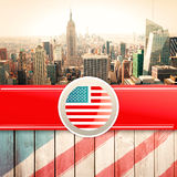 Composite image of independence day graphic Royalty Free Stock Image