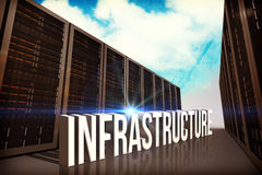 Composite image of infrastructure Stock Image