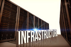Composite image of infrastructure Stock Images