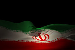 Composite image of iran flag waving Stock Images