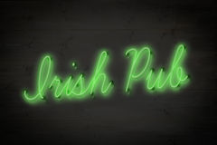 Composite image of irish pub sign Royalty Free Stock Images