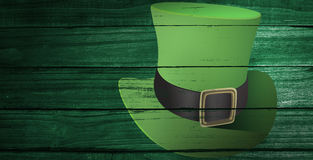 Composite image of leprechaun hat Stock Images