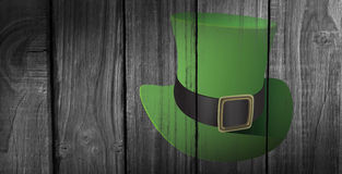 Composite image of leprechaun hat Royalty Free Stock Photography