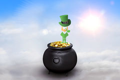 Composite image of leprechaun symbol Royalty Free Stock Photography