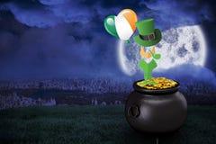 Composite image of leprechaun symbol Stock Photo