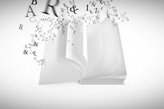 Composite image of letters Royalty Free Stock Photography