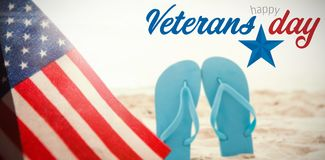 Composite image of logo for veterans day in america Stock Photos