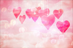 Composite image of love hearts Stock Image