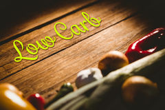 Composite image of low carb Royalty Free Stock Image
