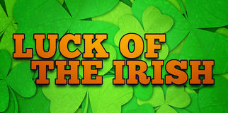 Composite image of luck of the irish Royalty Free Stock Image