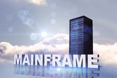 Composite image of mainframe Royalty Free Stock Photography