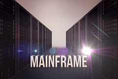 Composite image of mainframe Stock Image