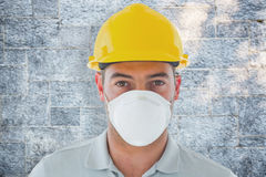 Composite image of manual worker Stock Images