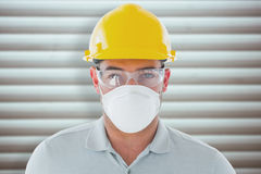 Composite image of manual worker Stock Image