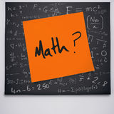 Composite image of math buzzword Stock Photography