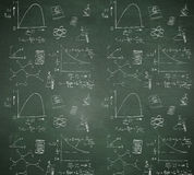Composite image of math and science doodles Stock Photos