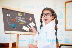 Composite image of maths Royalty Free Stock Photography