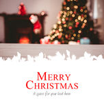 Composite image of merry christmas Royalty Free Stock Photo