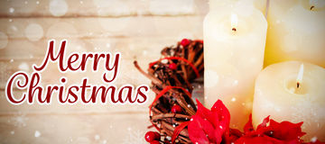 Composite image of merry christmas Royalty Free Stock Photos