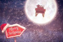 Composite image of merry christmas Royalty Free Stock Image