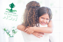 Composite image of mothers day greeting Stock Image