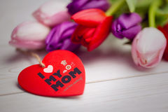 Composite image of mothers day greeting Stock Images