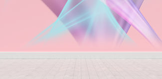 Composite image of multicolored lights against white background Royalty Free Stock Image
