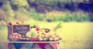 Composite image of new year goodness Stock Image