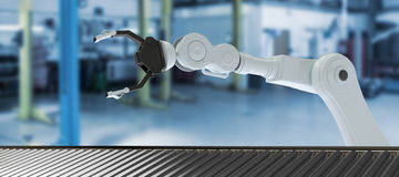 Free Composite Image Of 3d Image Of Production Line Royalty Free Stock Photo - 96264315