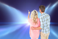 Free Composite Image Of Attractive Couple Standing And Looking Royalty Free Stock Photo - 49569215