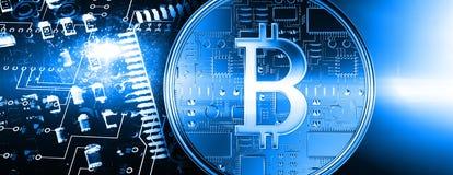 Free Composite Image Of Bitcoin Stock Photo - 108054900