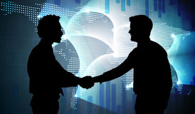 Free Composite Image Of Smiling Young Businessmen Shaking Hands In Office Stock Images - 52719124