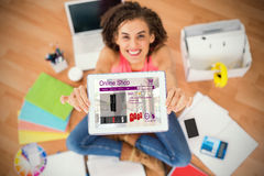 Free Composite Image Of Washing Machines For Sale Displayed On Web Page Royalty Free Stock Image - 94105176