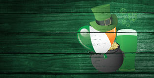 Composite image of patricks day graphics Royalty Free Stock Photo
