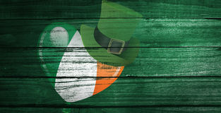 Composite image of patricks day graphics Stock Images