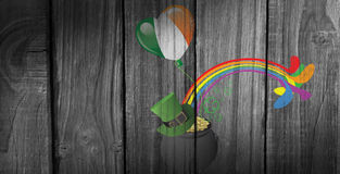 Composite image of patricks day graphics Stock Image