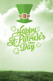 Composite image of patricks day greeting Royalty Free Stock Images
