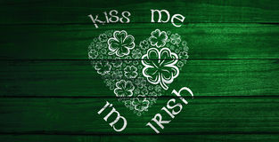 Composite image of patricks day greeting Stock Photos
