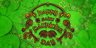 Composite image of patricks day greeting Stock Photos