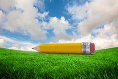 Composite image of pencil Stock Photo