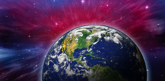 Composite image of planet earth Royalty Free Stock Photos