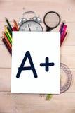 Composite image of a plus grade Stock Image