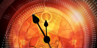 Composite image of pocketwatch Stock Images