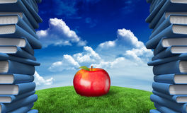 Composite image of red apple Stock Photo