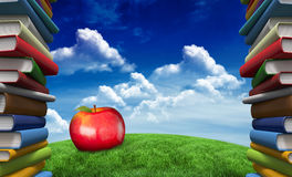 Composite image of red apple Royalty Free Stock Photo