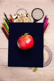 Composite image of red apple Royalty Free Stock Image