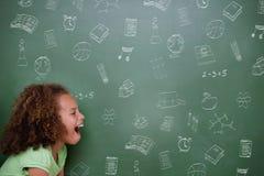 Composite image of school doodles Stock Photos